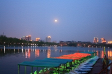 Night at Southlake, Changchun