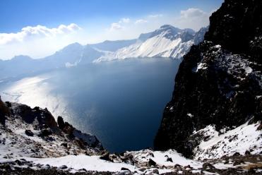 Tianqi lake or HEavenly lake Changbaishan