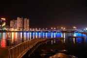 Yanji bridge at night