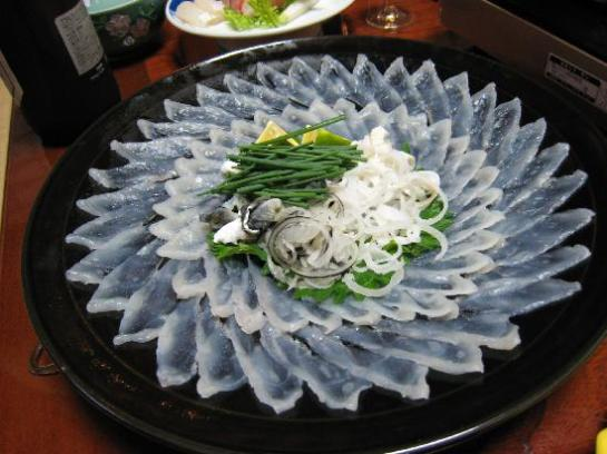 Fugu served as Chirinabe