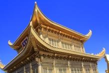 Golden summit temple, Emeishan