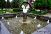 Fountain near the Entrance