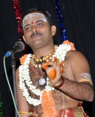 Performing Harikatha