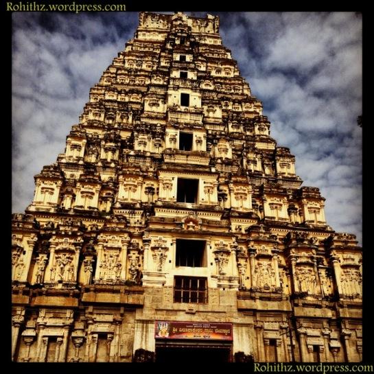 The splendor and grandeur of mighty Vijayanagara empire -Eastern tower