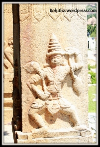 Kadalekalu Ganesha Temple, Hampi Karnataka