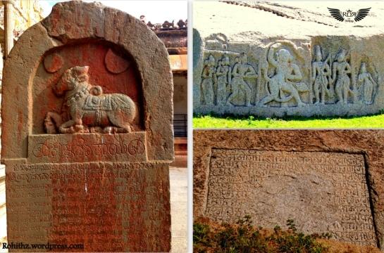 Sasanam, Virupaksha temple, Hampi