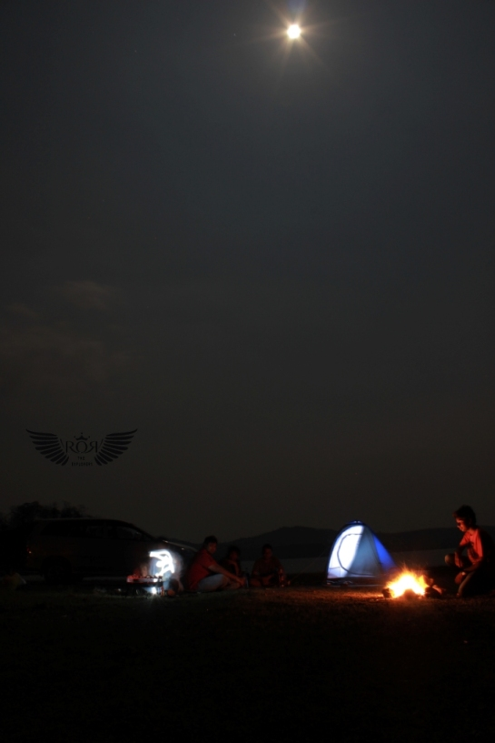 Amazing experience it was with BBQ, Campfire, Wine, Hookah, Pleasant music, Serene environment Full moon & obviously fun