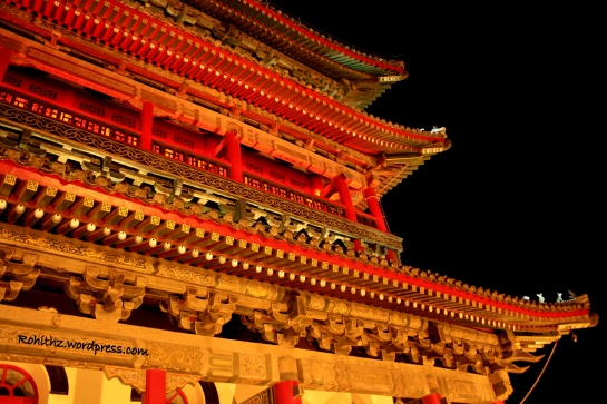 Drum tower of Xi'an, China