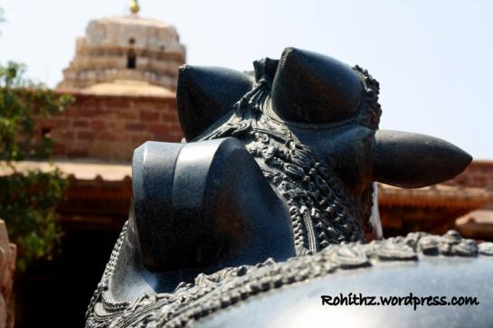 Nandi idol, Ramappa temple, Warangal