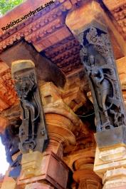 Nagini and Ragini sculptures