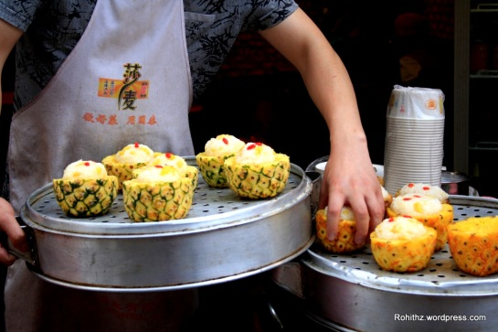 Pineapple Rice in Chengdu, Sichuan (3)