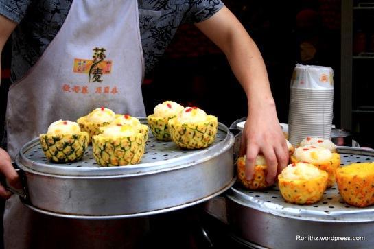 Pineapple Rice in Chengdu, Sichuan (3)