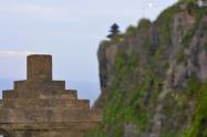 This pic resembles me of Machupichu, Peru :P