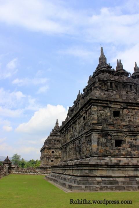 Looks like Hindu temples..