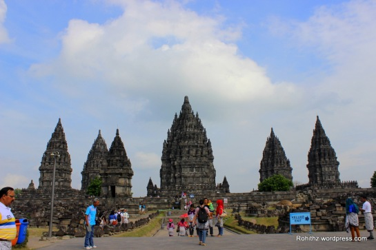 This is characterized by its tall and pointed architecture, typical of Hindu temple architecture.
