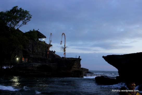 This is one of the seven sea temples around Balinese sea Coast. And it has significant Hindu influence ..
