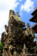 This is a typical Balinese style of architecture, This also owed to the growth of tourism industry in Bali ..
