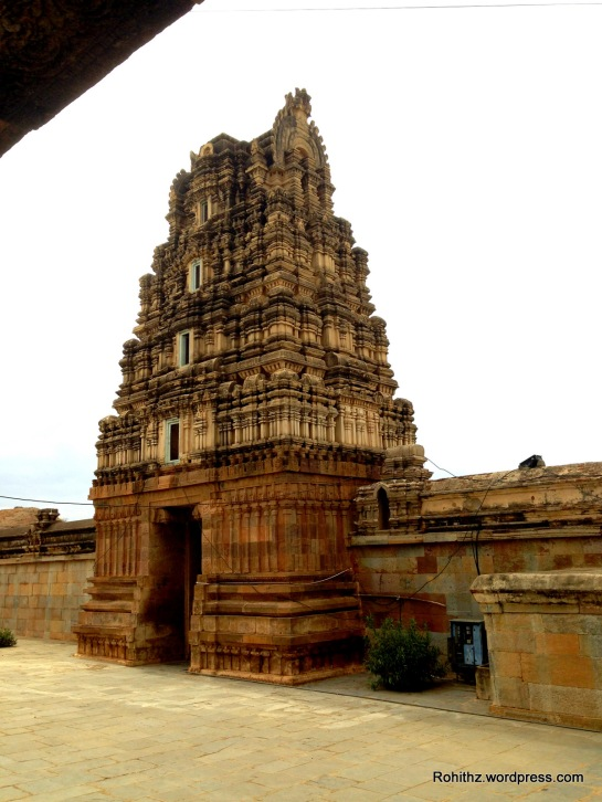 One of the Gopura's of this temple complex