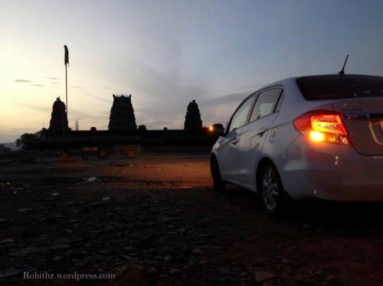Vontimitta temple complex Car'fie' :p