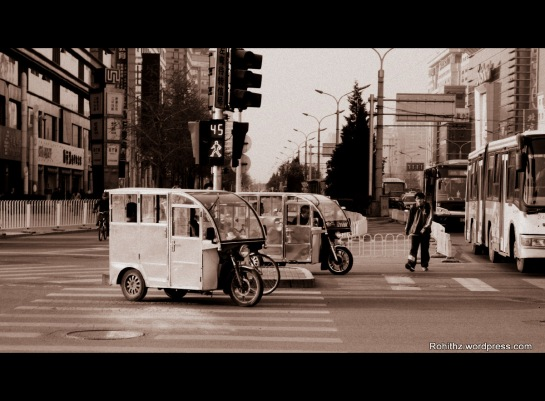 Beijing local Motor Vehicle transport: Very accessible, cost effective and illegal transport..