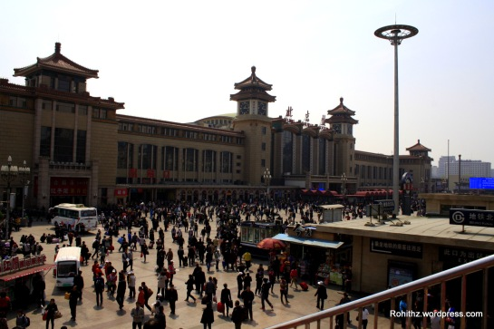 The Beijing Railway Station(北京火车站):Is the first-rate important railway in China running mainly long-haul journeys, it is honored to be the greeting gate of the nation. Built in 1901, it covers an area of nearly 72 acres. It is opened in 1959 and was the largest train station in China at the time. Though superseded by the larger Beijing West and Beijing South Stations, this station remains the only one.