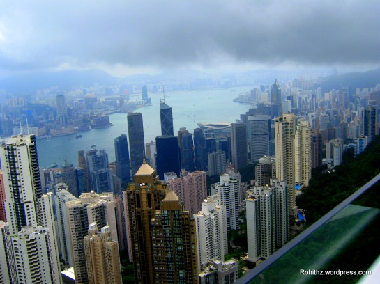 A view from the Victoria Peak..