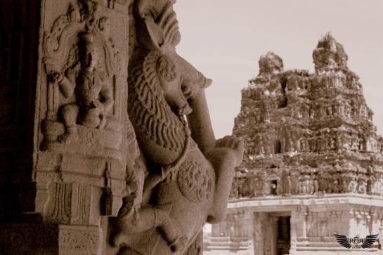 Ornate pillar of vittala temple
