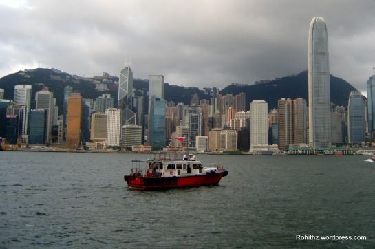 """Take the Star Ferry atleast once, do it from the Tsim Sha Tsui, Kowloon side to get to Hong Kong Island at night around 8PM. This way you will see the magnificent view of the skyscrapers in Central and Wanchai. Every night at 8PM there is also a light show called """"A Symphony of Lights"""". It is a show of dancing lights and music coming from buildings and skyscrapers. You will get a close up look of the light show on the Star Ferry plus a unique boating experience at night."""