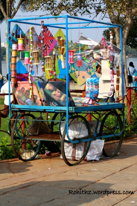 Kite shop on Wheels..
