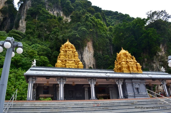 Entrance shrine at Batu caves..