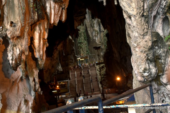 The limestone forming Batu Caves is said to be around 400 million years old.