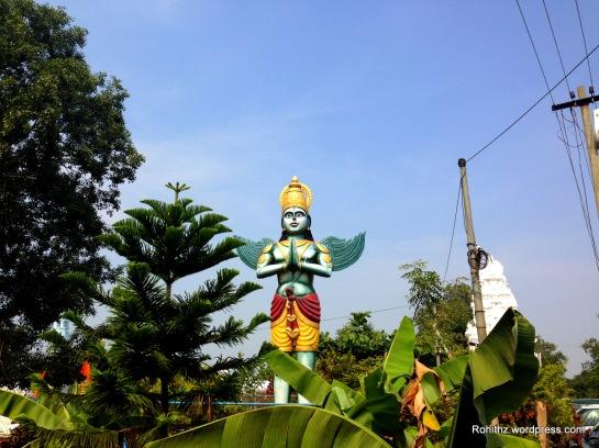 Garuda Statue outside of the temple complex