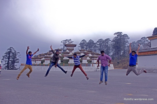 Jumping for joy makes the soul happy..