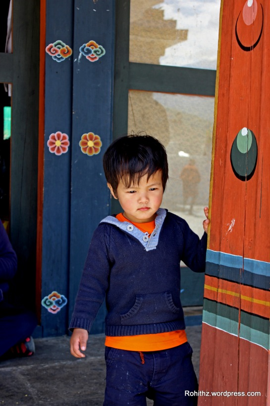 """The soul is healed by being with children."" -English Proverb Spotted this child at Thimphu Memorial."