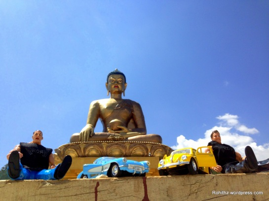 RoRBoyz @ 169 feet Buddha Statue & is one of the largest Buddha rupas in the world.