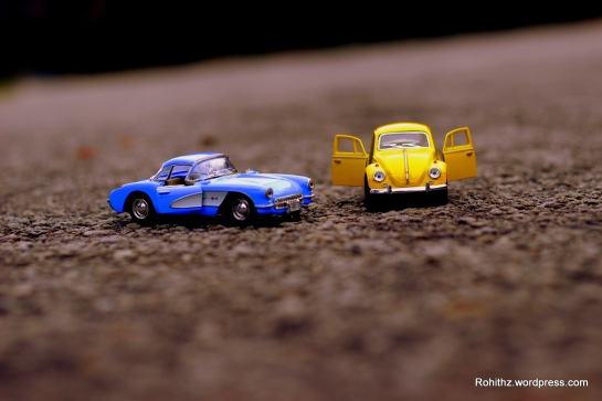 Yellowie & Vader toy cars love story (4)