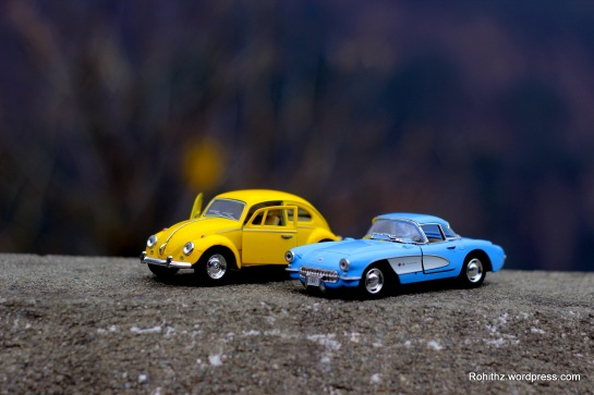 Yellowie & Vader toy cars love story (5)