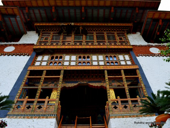 Entrance of Punakha Dzong