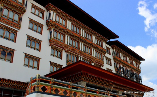 Meridian Hotel, Clock tower road, Thimphu
