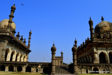 This is the most ornate building in Bijapur.