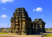 Surya Shrine of Kasivisveswara temple, Lakkundi