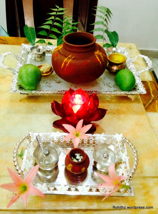 Ugadi pachadi at home