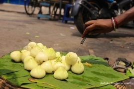 Commonly known as Water Apple or Java Apple in the rest of the world, Bengal knows this fruit as the good old Jamrul. Much much smaller in size than a pear.