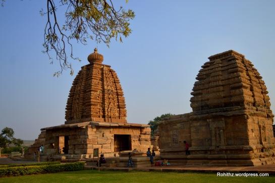 Kashi Visveswara temple & Galaganatha temple, Pattadakal.