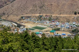Thimphu city overview (3)