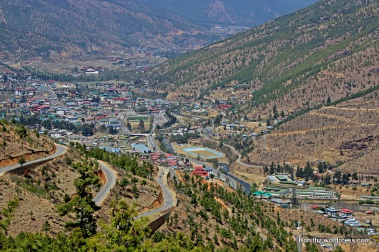 Thimphu city overview (4)