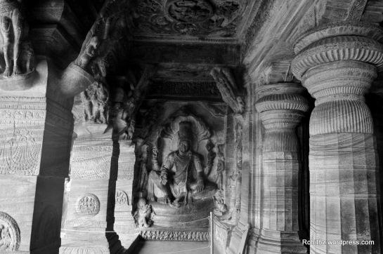 Badami cave temples, karnataka (2)