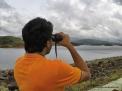 I consider myself to have been the bridge between the shotgun and the binoculars in bird watching.