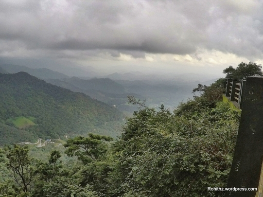 Beautiful view from Lakkidi view point