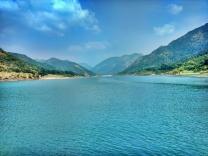 view of Godavari river & Papi kondalufrom our cruise